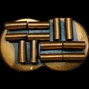 Retro Copper Brooch Pin