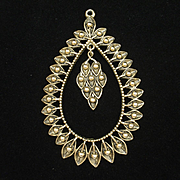 Large Teardrop Pendant by Sarah Coventry