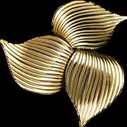Pinwheel Bow Brooch Pin Sarah Coventry