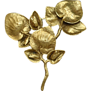Branch of Leaves Pin Vintage by TMC