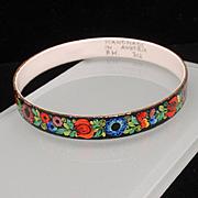 Enamel Bangle Bracelet Austria