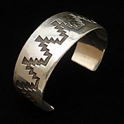 Tommy Jackson Cuff Bracelet Heavy Gauge Silver