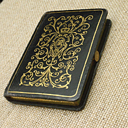Leather Bound Book is a Compact Powder Rouge Vintage Raquel