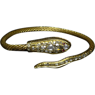 Snake Bracelet 18K