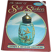 Book, Collectible salt shaker Book, The World of Salt Shakers, Shroeder Publishing, 2nd editon, 1996