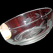Scotish thistle bowl, the symbol of Scotland