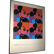Print:Andy Warhol Foundation, The Art of Mickey Mouse, Disney, No. 885, 1981