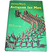 Book, Antiques for Men, Spinning Wheels, 1974