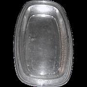 Silver-plated Bread dish Art Nouveau
