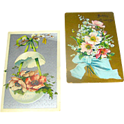 Post Cards, Birthday and Easter 1909, price is for both