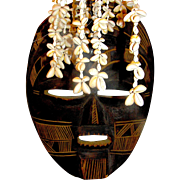 African Tribal Mask, handmade, c 1900