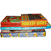 Four Vintage Games all dated 1939 and so far as I can see complete!