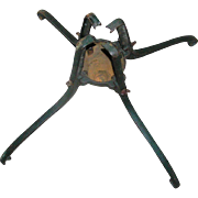 Cast Iron Christmas Tree Stand, American Water Motor Company, Columbus, Ohio, early 20th c.