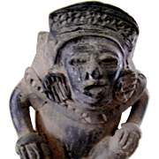 Ethnological figurine of Central or South American origin, 20th c.
