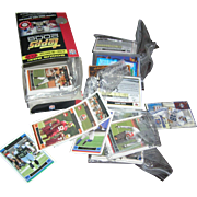 Partial box of 2006 football cards...about 19 packs
