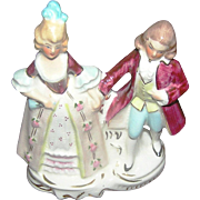 "Colonial couple in porcelain by Coventry USA. It stands 6"" tall. Thank you."