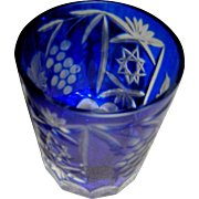 Godinger Crystal Legends, Bar Glass, whisky glass or tumbler, made in Romamia, sticker still on, exc.