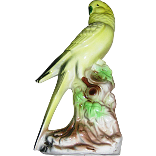 Cockatiel Bird figurine, marked Rossini, Japan