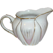 Porcelain pitcher, small, marked Viceroy China, Japan on the bottom