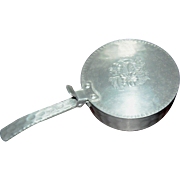Crumb catcher, hand forged aluminum, by Everlast Metal