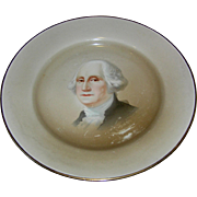 Plate, Portrait, George Washington, Johnson Bros., 10""