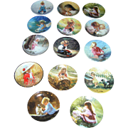Donald Zolan Limited Edition Collector Plates Lot (14)