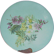 plate, Tuscan Fine English Bone China, floral motif