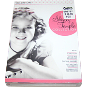 The Shirley Temple Collection, DVD- 6 pc; set, Volume 1, VG to EXC.