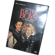 DVD tape, Bette Midler, Where The Boys Are, boxed, excellent