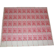 US stamp sheet, No. 979, American Turners Association, 1948, 3cents