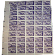 US stamp sheet No. 24155, The Universal Postal Union, MUN and gummed, ten cents