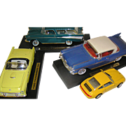 Diecast vehicles toy lot of 4 VG to Excellent