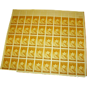 US Stamps Gold Star Mothers sheet MNH gummed