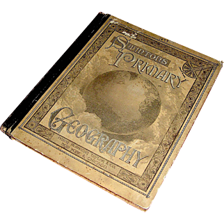 Antiquarian Geography book, Swinton's Primary Geography, Ivison, Blakeman, Taylor And Company, 1879
