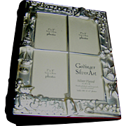 Baby photo album, silver plate on aluminum, by Godinger