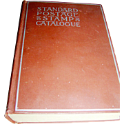 Vintage Book, Scott's Standard Postage Stamp Catalogue, 1936
