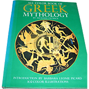 Vintage book Greek Mythology, 1974, Octopus Books