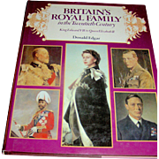 Vintage book, Britain's Royal Family in the twentieth Century, Donald Edgar, Crescent Books, 1979