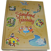 Vintage Book, Disney Storyland Treasury, Disney enterprises, 2003, VG