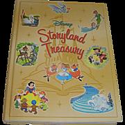 Vintage Book, Disney Storyland Treasury, Disney enterprises, 2003, VG
