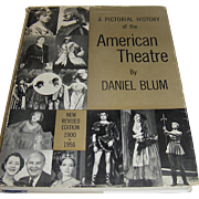 Book, American Theatre by Daniel Blum, 1900-1956