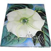 Book of Georgia O'keeffe Printed Flowers by Nickolas Calloway, 1987 Near Mint!