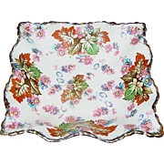 Vintage Chintz Dish Maple 5009, James Kent Ltd. London