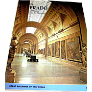 Vintage Book, The Prado of Madrid and It's Painting, Arco, NY, 1973