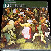 Vintage book, Breugel, 1969