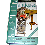 Vintage book, Miller's International Ant.& Collectables guide for 2005, very good to excellent
