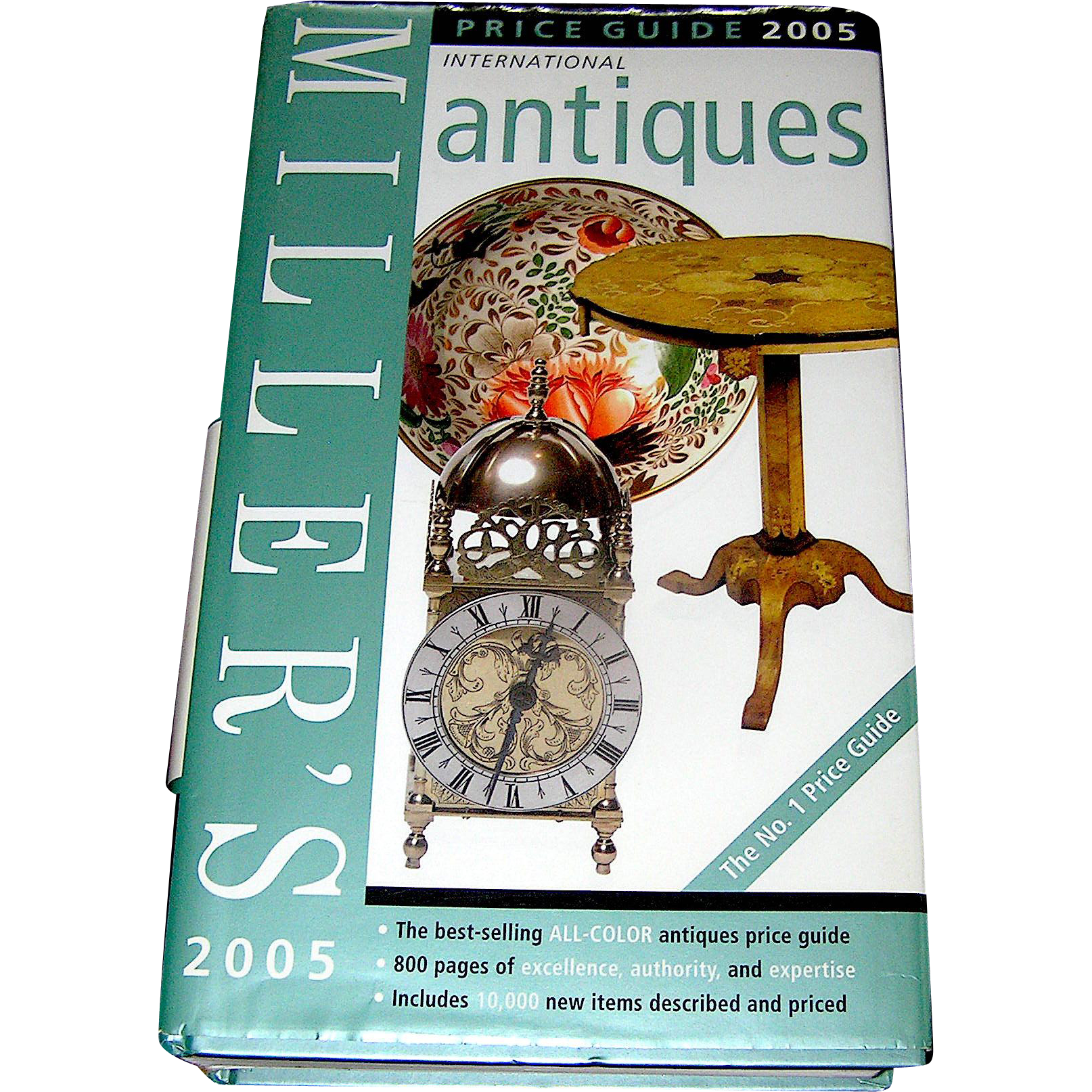 Vintage book, Miller\'s International Ant.& Collectables guide for ...