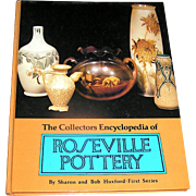 Vintage Collectors book, The Collectors Encyclopedia of Roseville Pottery, Early printing