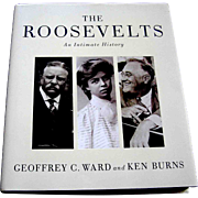 book, The Roosevelts, Alfred Knopf, First Edition