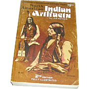 Vintage book, North American Indian Artifacts, Hothem, 1982